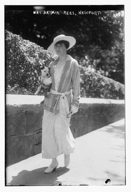 Mrs. Arthur Rees, Newport
