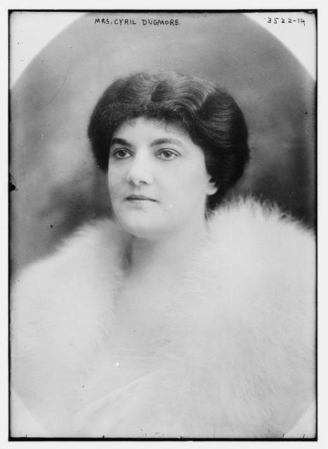 Mrs. Cyril Dugmore