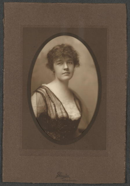 Mrs. David Terry, Little Rock, Arkansas, Member, Advisory Council [Congressional Union for Women Suffrage]