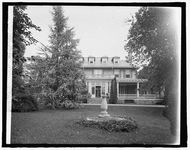 Mrs. Dudley Morgan House