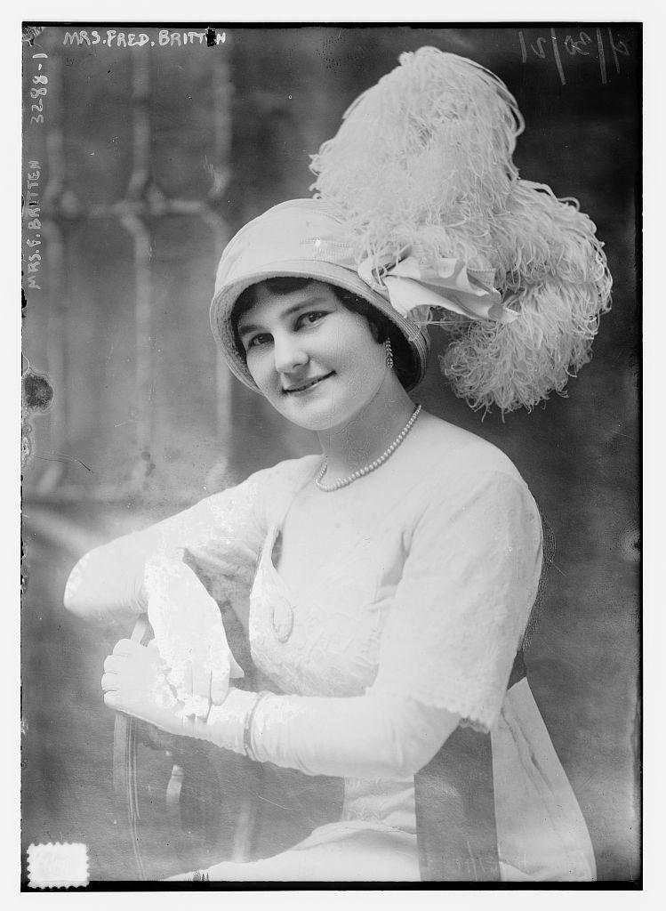 Mrs. Fred Britten