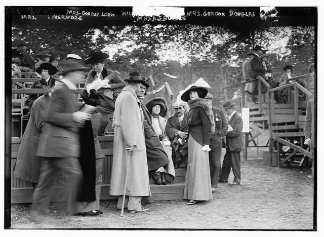 Mrs. Livermore, Mrs. Goadby Loew, Wil[...], Mrs. A.S. Burden, Mrs. Gordon Douglas