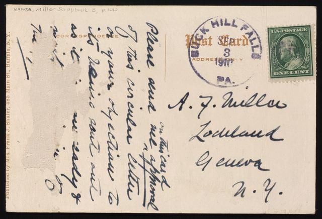 Mrs. M. T. L (William C.). Gannett to Anne Fitzhugh Miller