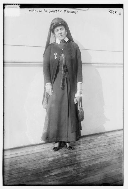 Mrs. M.W. Barton French