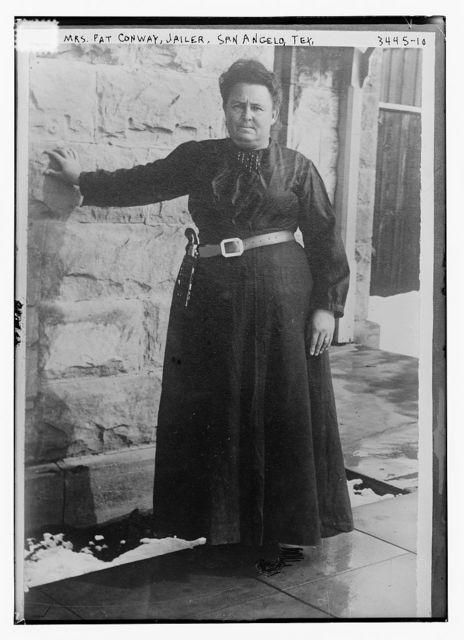 Mrs. Pat Conway, Jailer, San Angelo Tex.