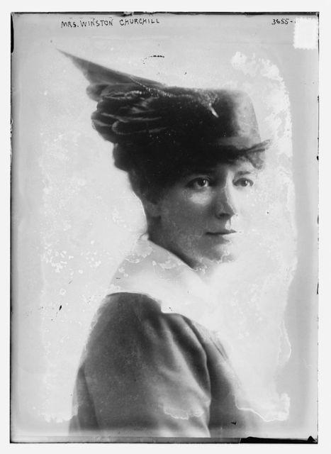 Mrs. Winston Churchill