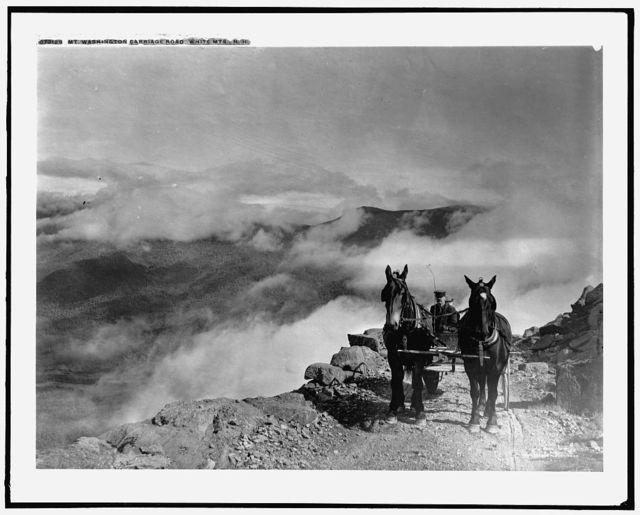 Mt. Washington carriage road, White Mts., N.H.