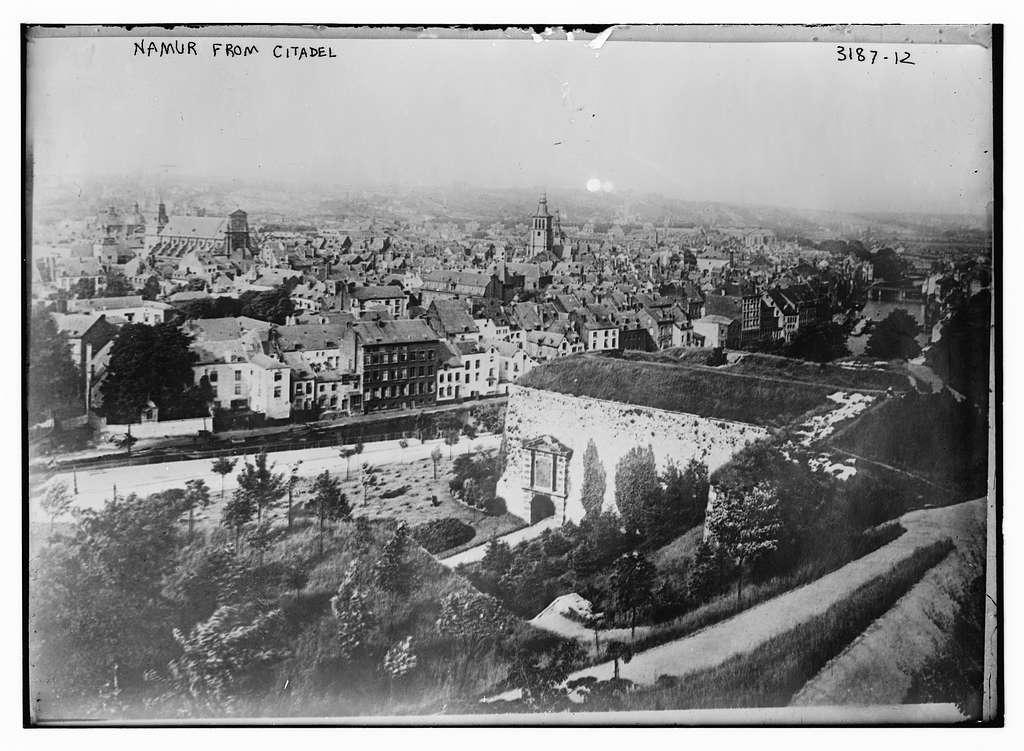 Namur -- from Citadel