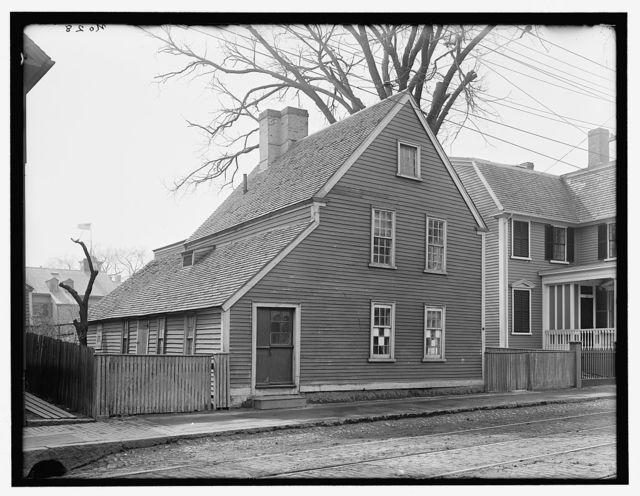 [Narbonne House, 71 Essex Street, Salem, Mass.]