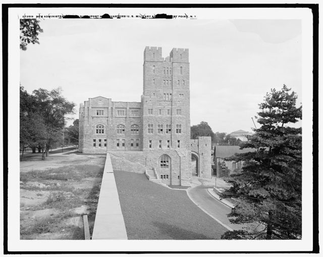 New administration building (post headquarters), U.S. [United States] Military Academy, West Point, N.Y.