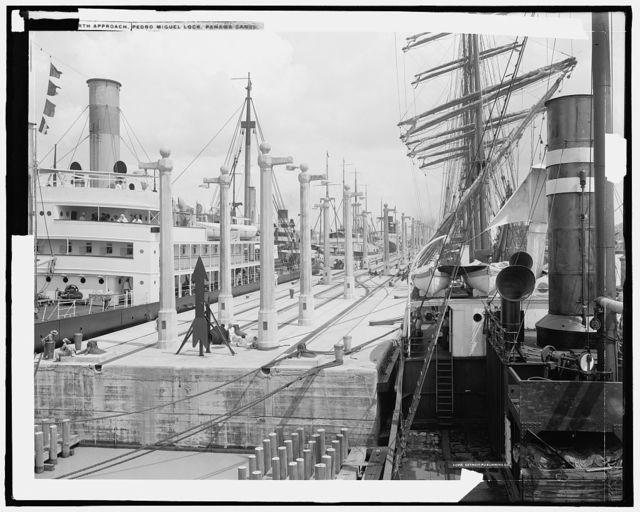 No. [...] [P]edro Miguel Lock, Panama Canal