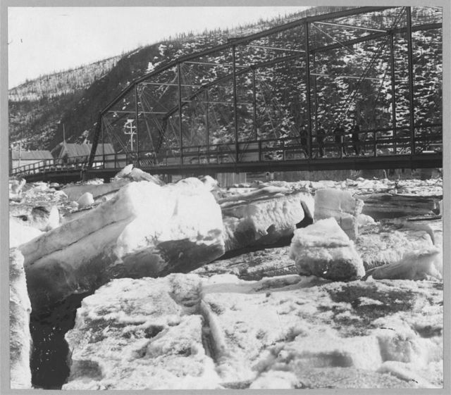 Ogilvie Bridge ice jam