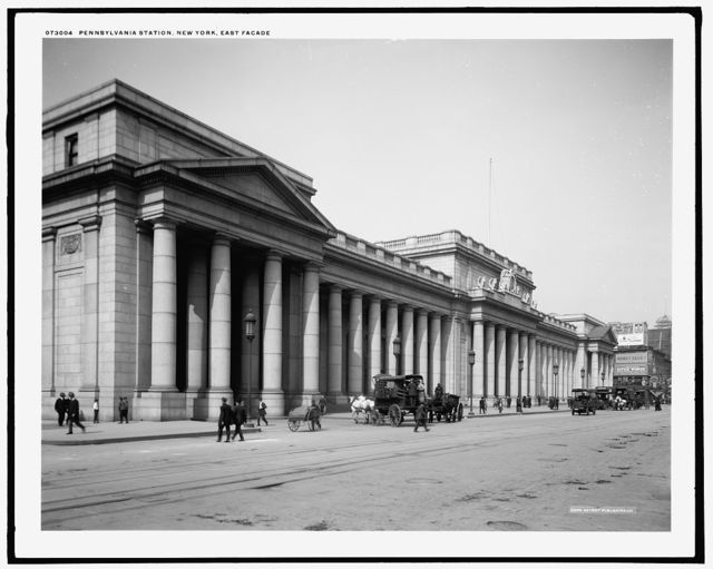 Pennsylvania Station, New York, east facade