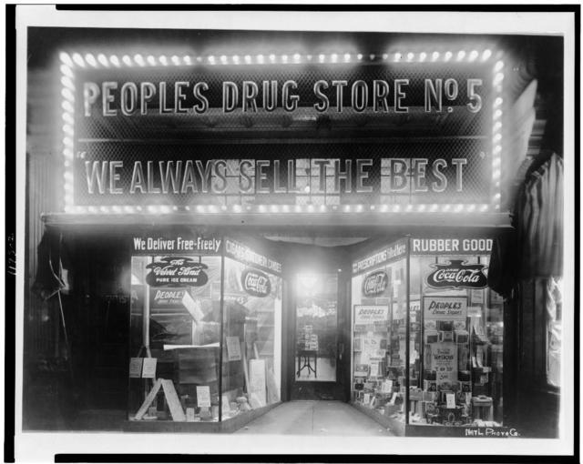 People's Drug Store at 8th & H Streets, N.E., Washington, D.C.