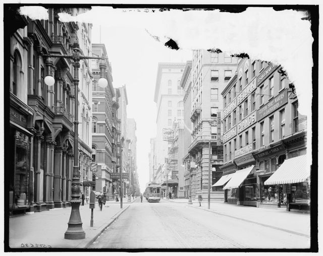 [Philadelphia, Pa., Chestnut St., west from 12th]