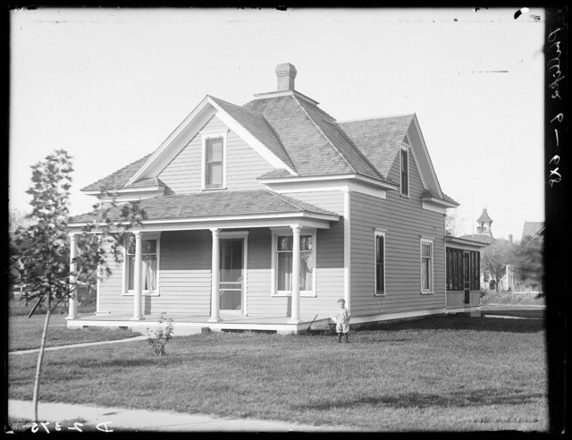 Phillips house in Shelton, Buffalo County, Nebraska