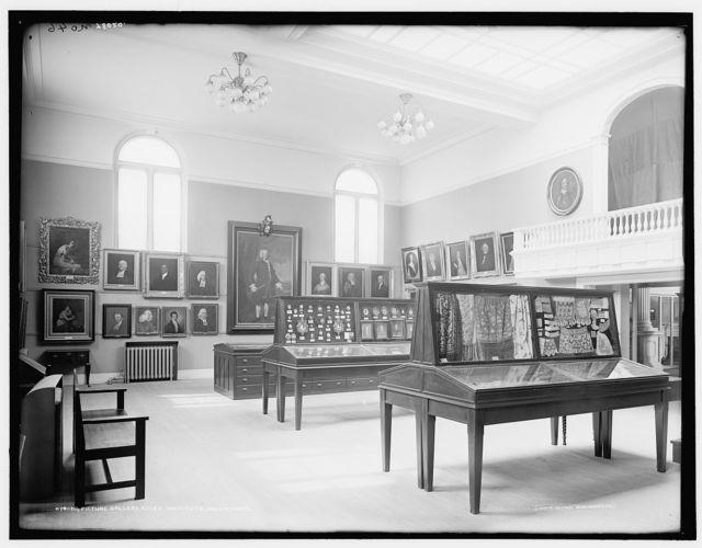 Picture gallery, Essex Institute, Salem, Mass.