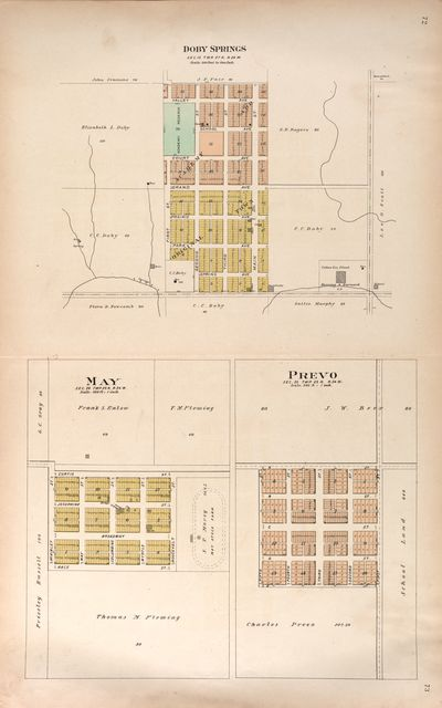 Plat book of Harper County, Oklahoma : containing maps of villages, cities and townships of the county, and of the state, United States and world : portraits of representative citizens and leading men of the county /
