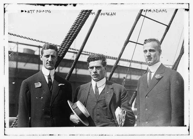 Platt Adams, Jim Duncan, and Ben. Adams