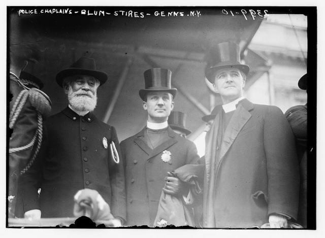 Police Chaplains - Blum - Stires - Genns. N.Y.