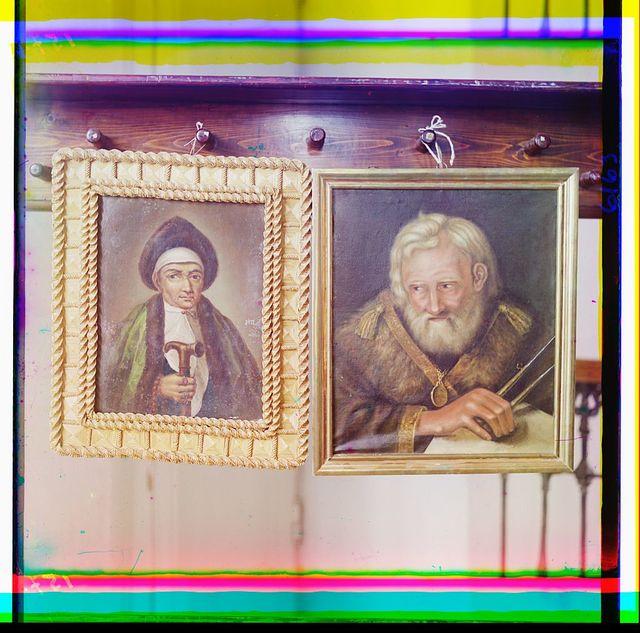 Portret inokini Marḟy, materi T︠S︡ari︠a︡ Mikhailo Ḟedorovicha, i portret Serdi︠u︡kova. V Tverskom muzei︠e︡