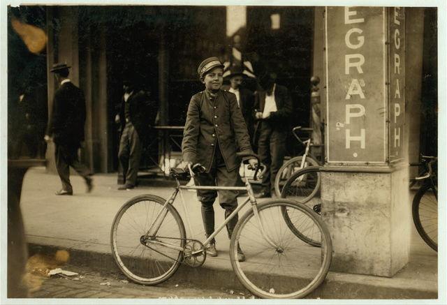 Postal Telegraph messenger.  Location: Birmingham, Alabama.