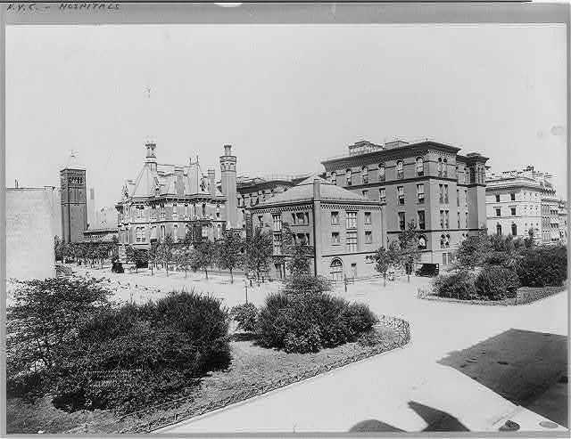 Presbyterian Hospital, Park Ave. & 70th St., New York City