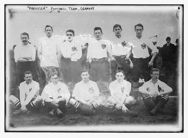 Preussen soccer team, Germany