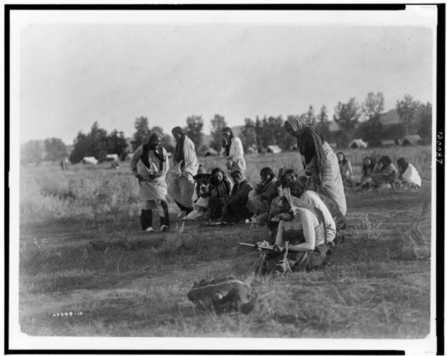 Priests passing before the pipe--Cheyenne