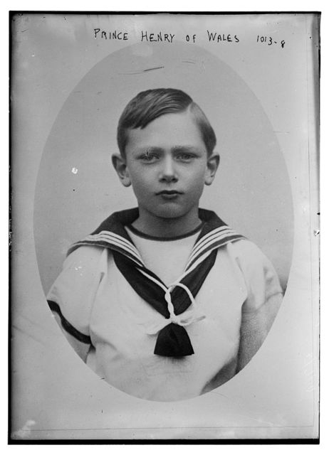 Prince Henry of Wales, in sailor suit