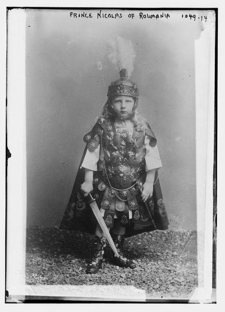 Prince Nicolas of Roumania