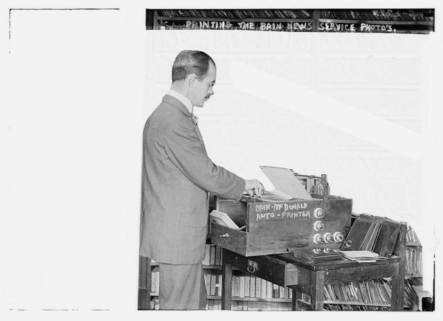 Printing the Bain News Service Photos