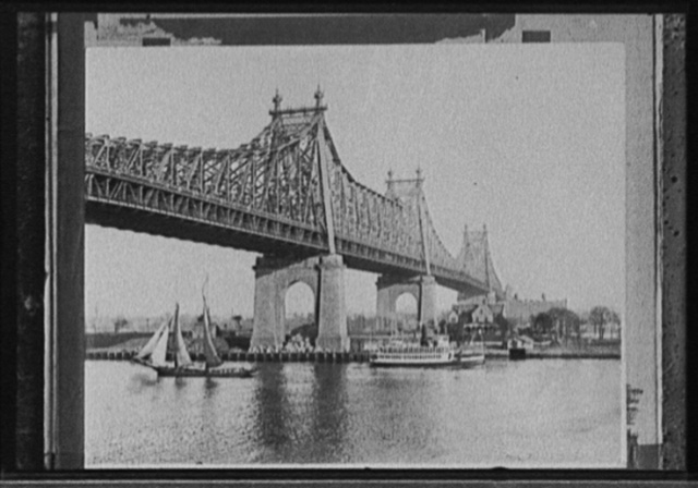[Queensboro Bridge, Roosevelt Island, New York, N.Y.]