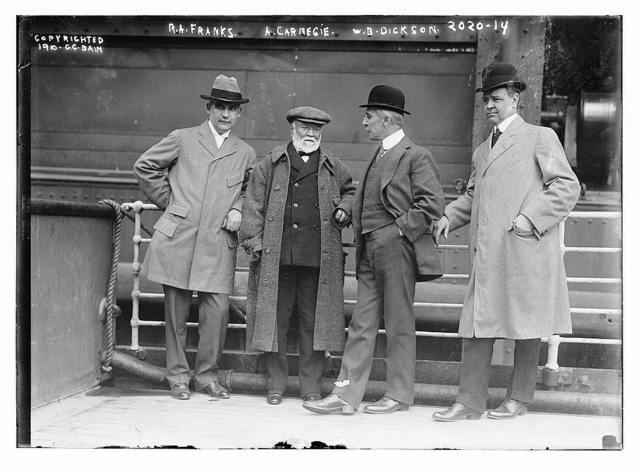 R.A. Franks, A. Carnegie, W.B. Dickson