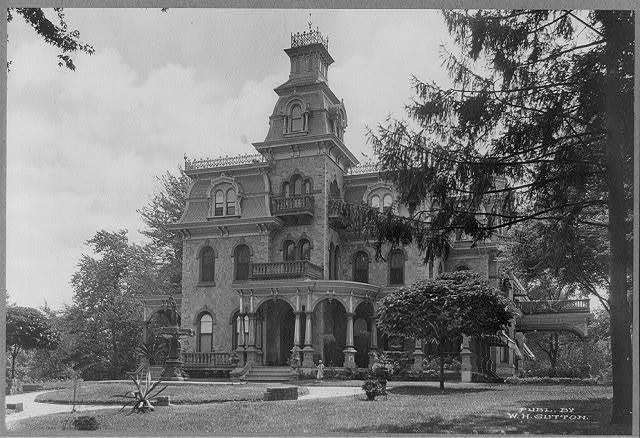 Residence of G. G. Green