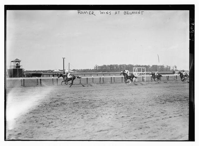 """Roamer"" wins at Belmont"