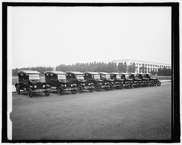 Robey Motor Co., Police Fords