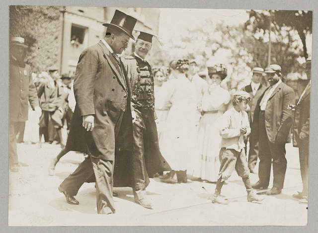 Roosevelt and Pres. Lowell