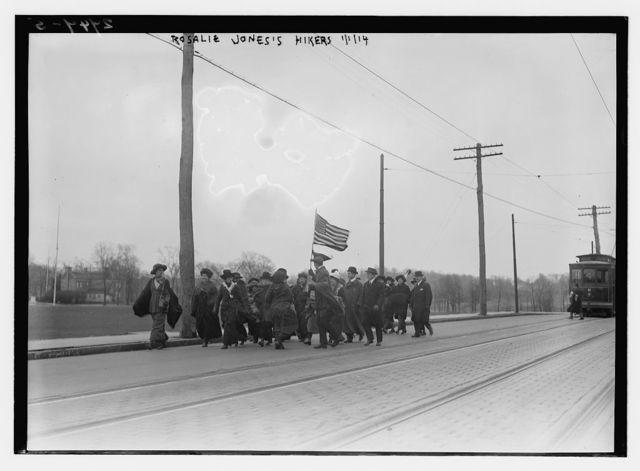 Rosalie Jones' Army [Suffragettes] (hiking)