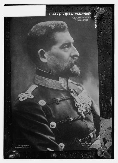 Rumania - King Ferdinand