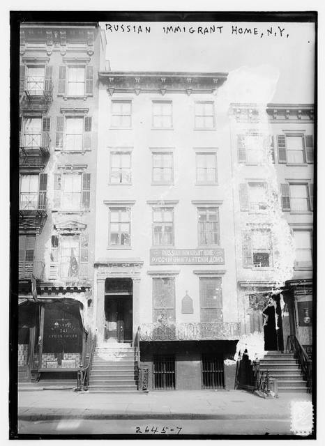 Russian immigrant home, N.Y.