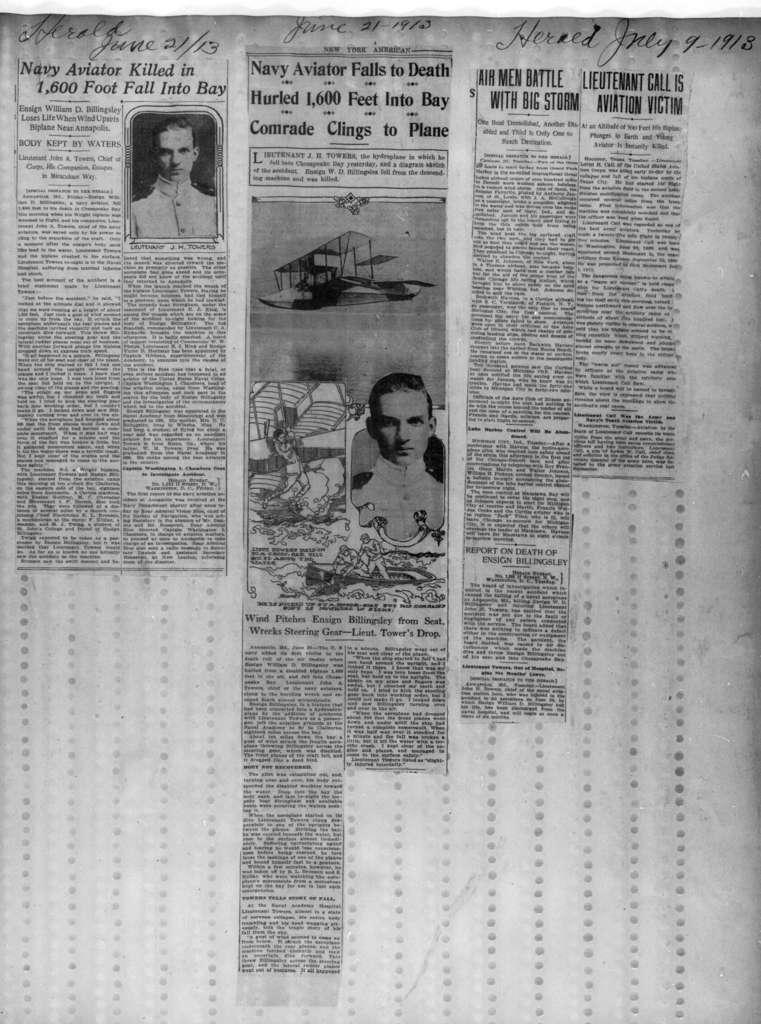 Scrapbooks:  December 1910-March 1914