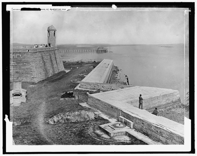 [Sea wall, Fort] Marion, St. Augustine, Fla.