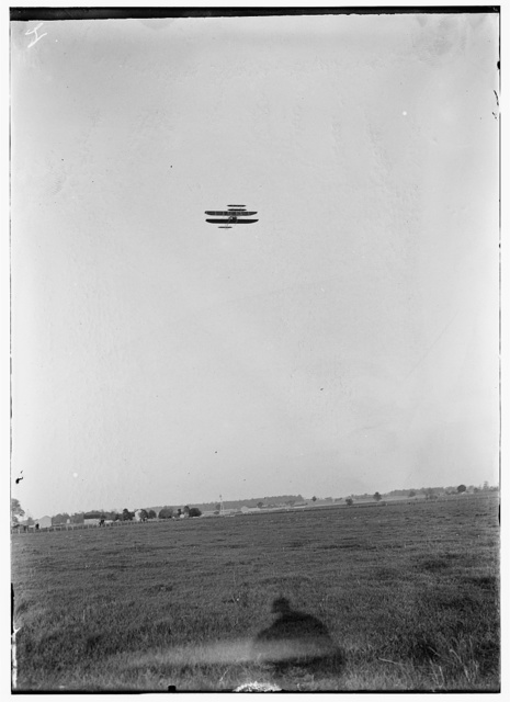 [Series of flights from May through July, just after the opening of the Wright Flying School, probably Orville acting as instructor; Simms Station, Dayton, Ohio]