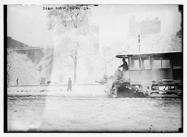 Snow plow, Union Square