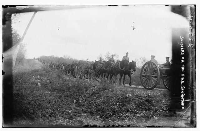 Soldiers on the Hike, San Antonio