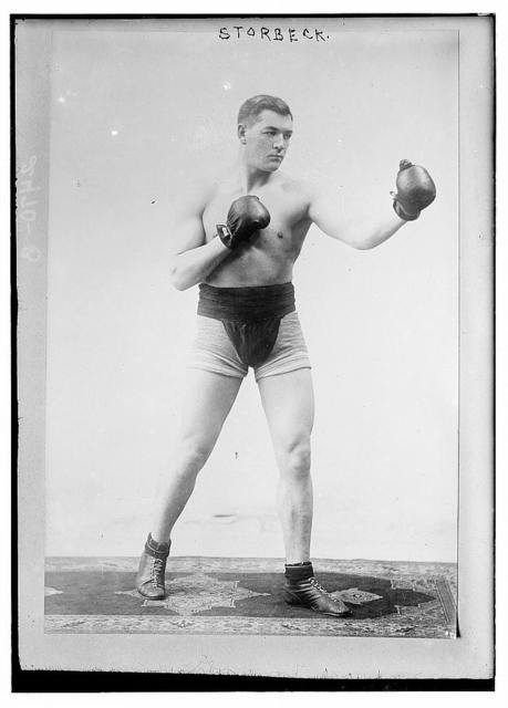 [South African boxer Fred] Storbeck