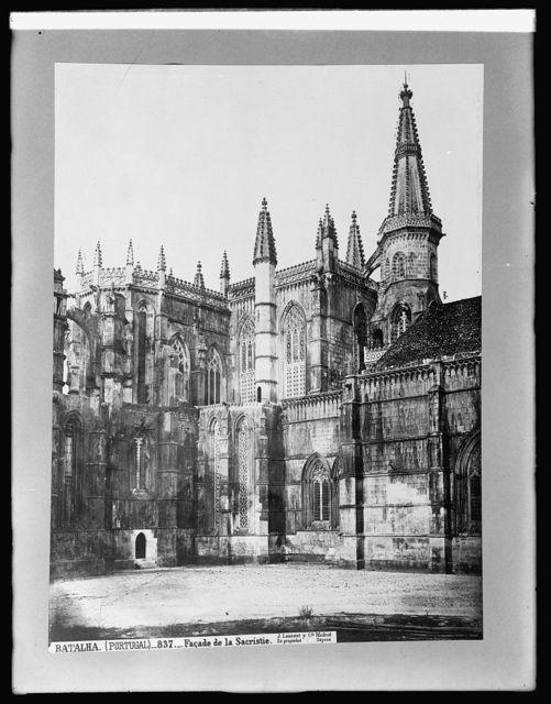 Spain, Fasade of Sacristy, Batalha