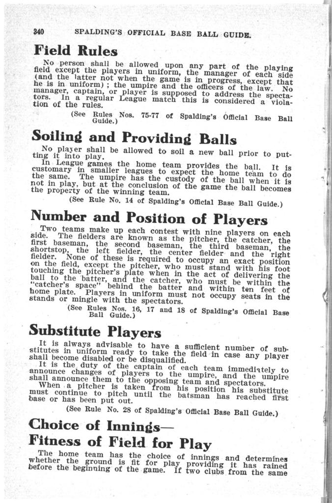 Spalding's official base ball guide, 1910
