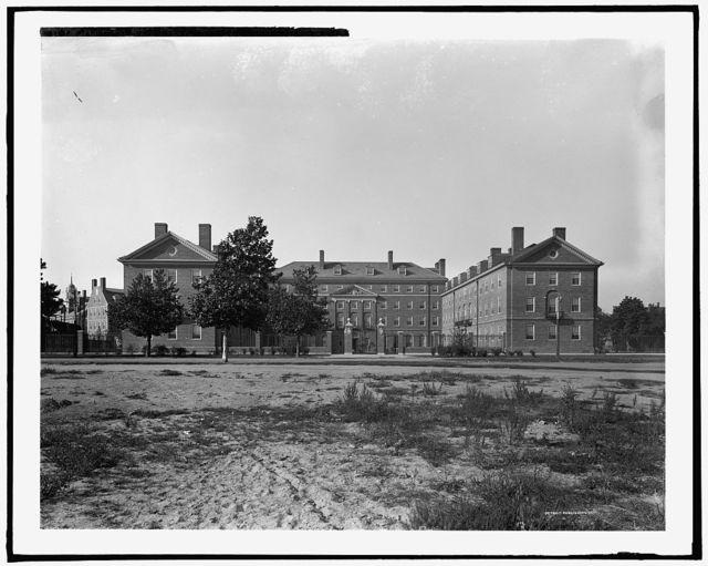 Standish Hall, freshman dormitories, Harvard University, Mass.